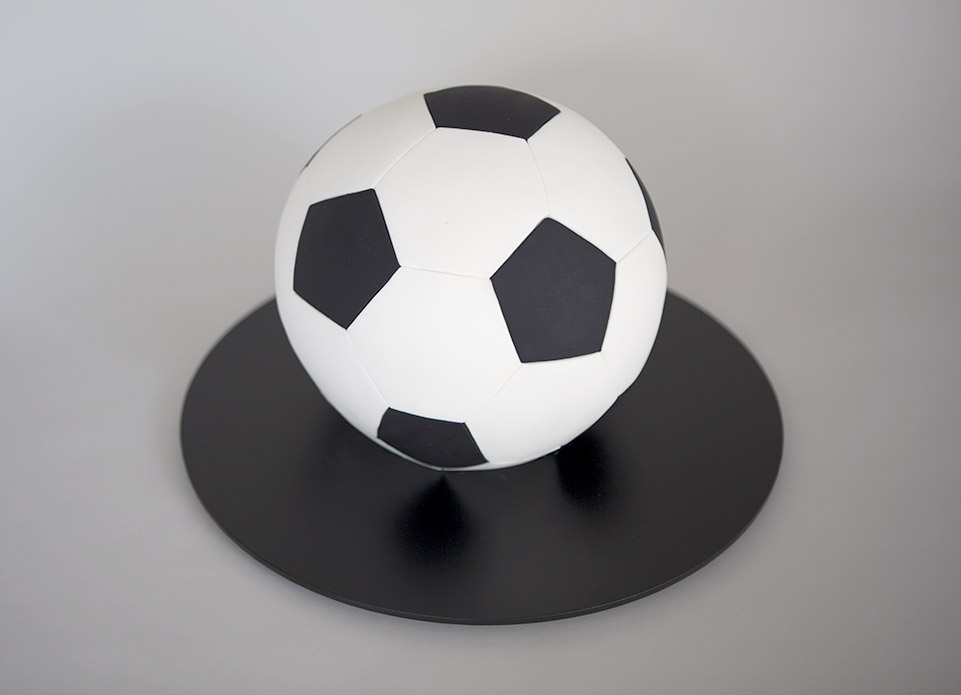 6 Photos of Soccer Ball Chocolates Cakes