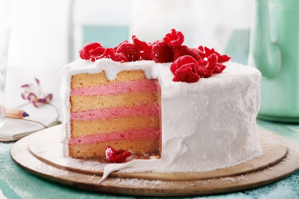 9 Photos of Cakes 2 Layer Simple Summer