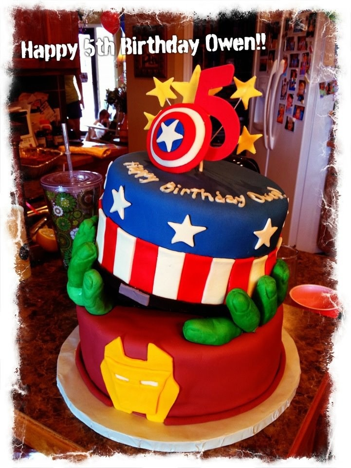 12 Super Hero Cakes With Hulk Hand Photo Awesome Superhero Cake
