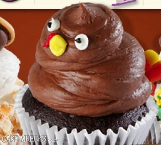 11 Photos of Thanksgiving Cakes Gone Wrong