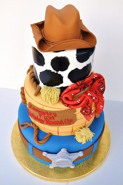 12 Photos of Woody Cowboy Birthday Cakes