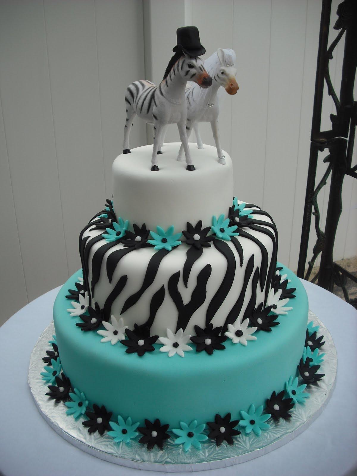 9 Photos of Engagement Cakes Zebra