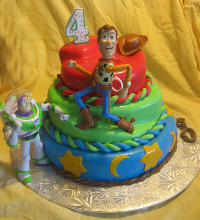 4 Year Old Boy Birthday Cake Ideas