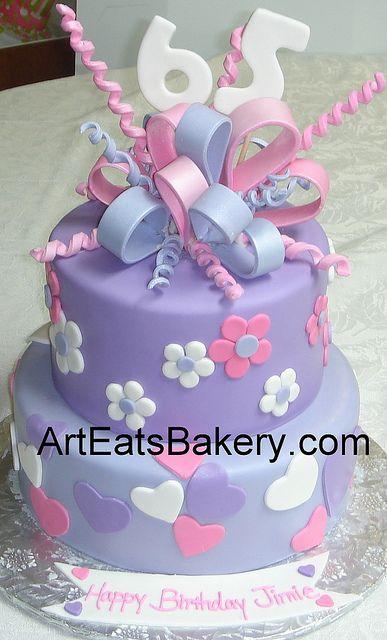 65th Birthday Cake Designs