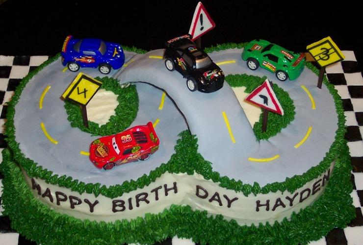 8 Year Old Boy Birthday Cake