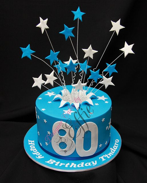 11 Unique 80th Mens Birthday Cakes Photo