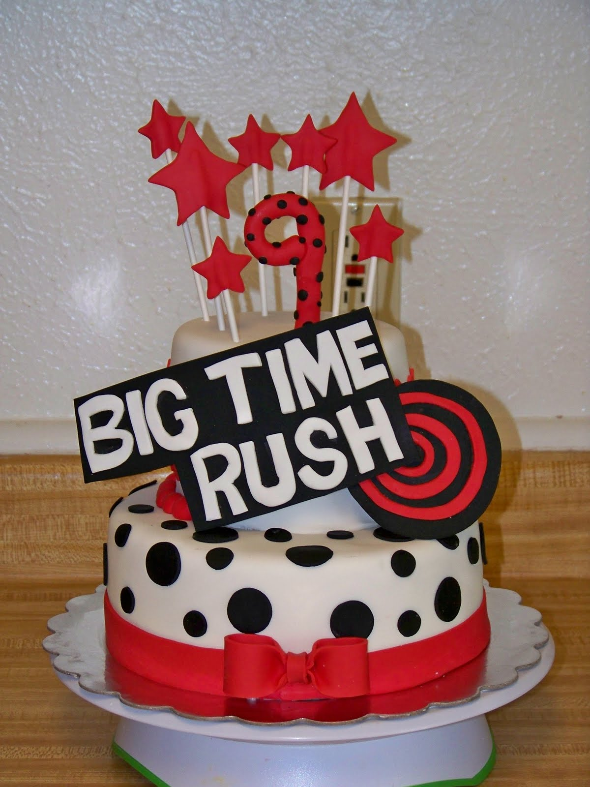 Big Time Rush Birthday Cake
