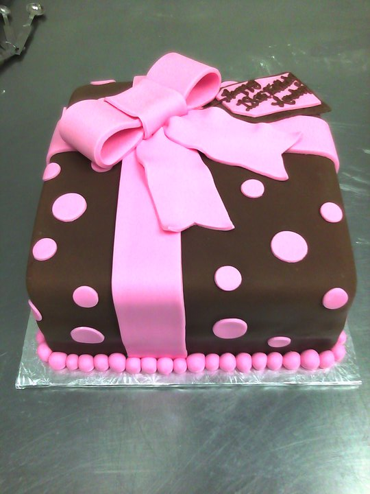 10 Cakes Decorated Like Birthday Present Photo Birthday Cakes That