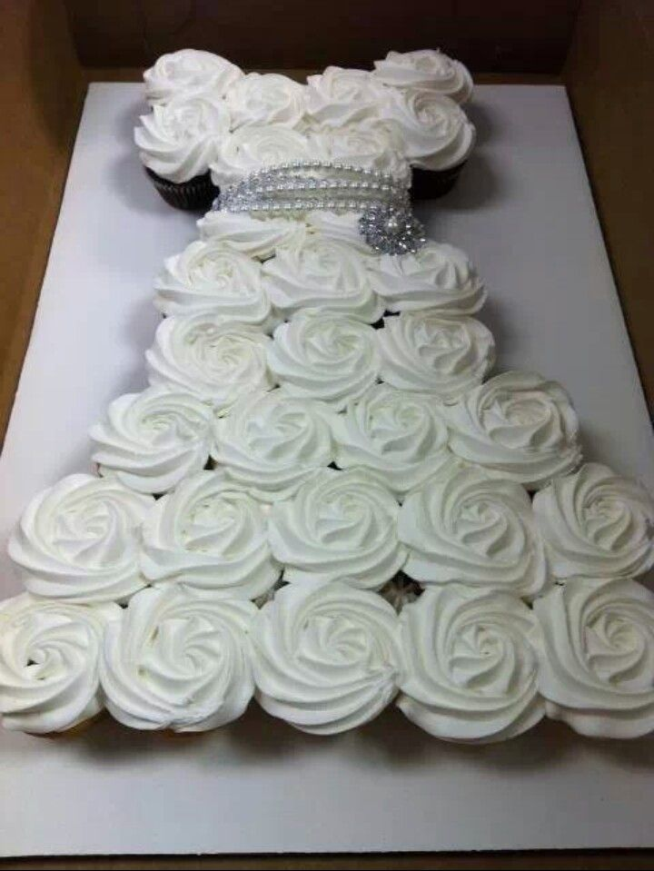 9 Photos of Pinterest Bridal Shower Cupcakes
