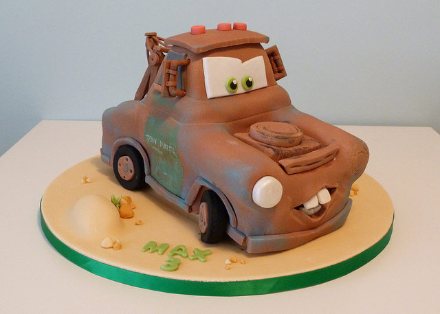 Amazing 8 Disney Truck Cakes Photo Disney Cars Mack Truck Disney Cars Funny Birthday Cards Online Benoljebrpdamsfinfo