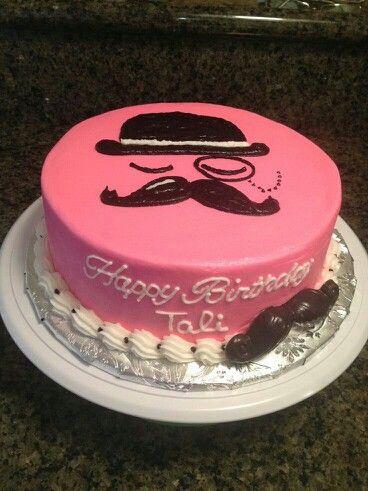Fantastic 10 Mustache Party Birthday Cakes For Girls Photo Girl Mustache Funny Birthday Cards Online Necthendildamsfinfo