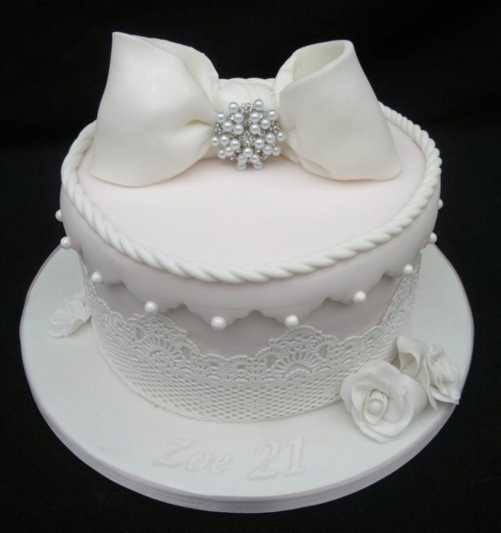 Hat Box Cake