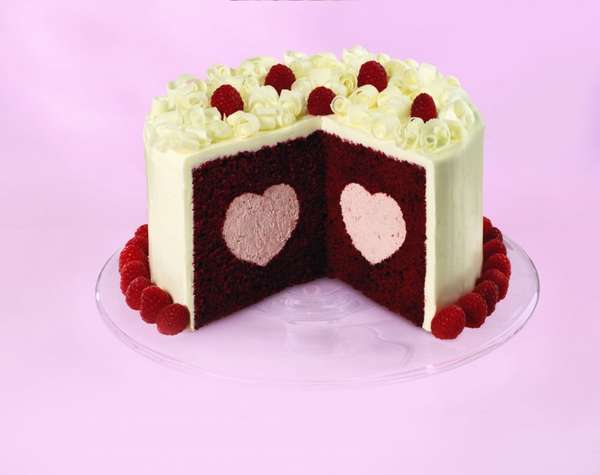 7 Photos of Wilton Heart Shaped Valentine Cakes