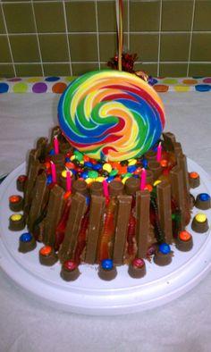 Homemade Flip Flop Birthday Cake IdeaThey