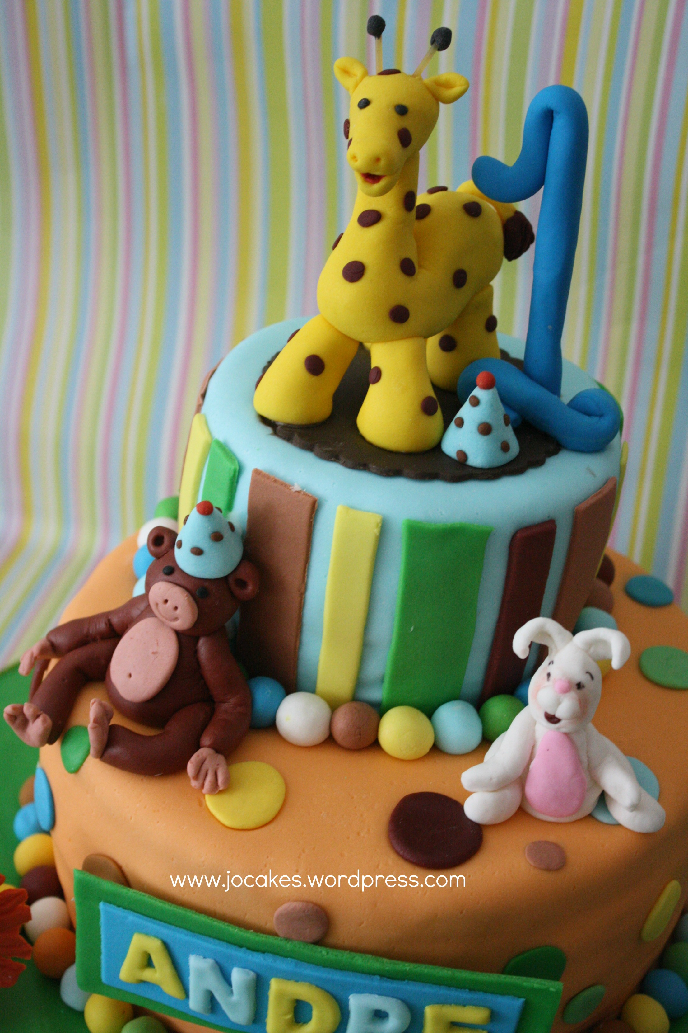 Jungle Birthday Cakes 1 Year Old Boy
