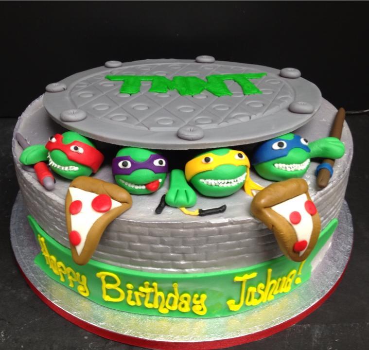 12 Teen Birthday Cakes Sea Turtle Photo Sea Turtle Birthday Cake