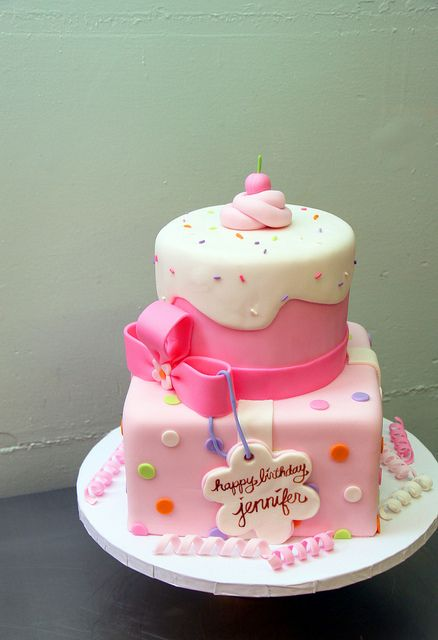 9 Pretty Birthday Cakes For Girls Young Photo