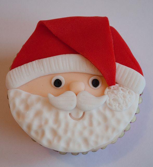 Santa Face Cake Ideas