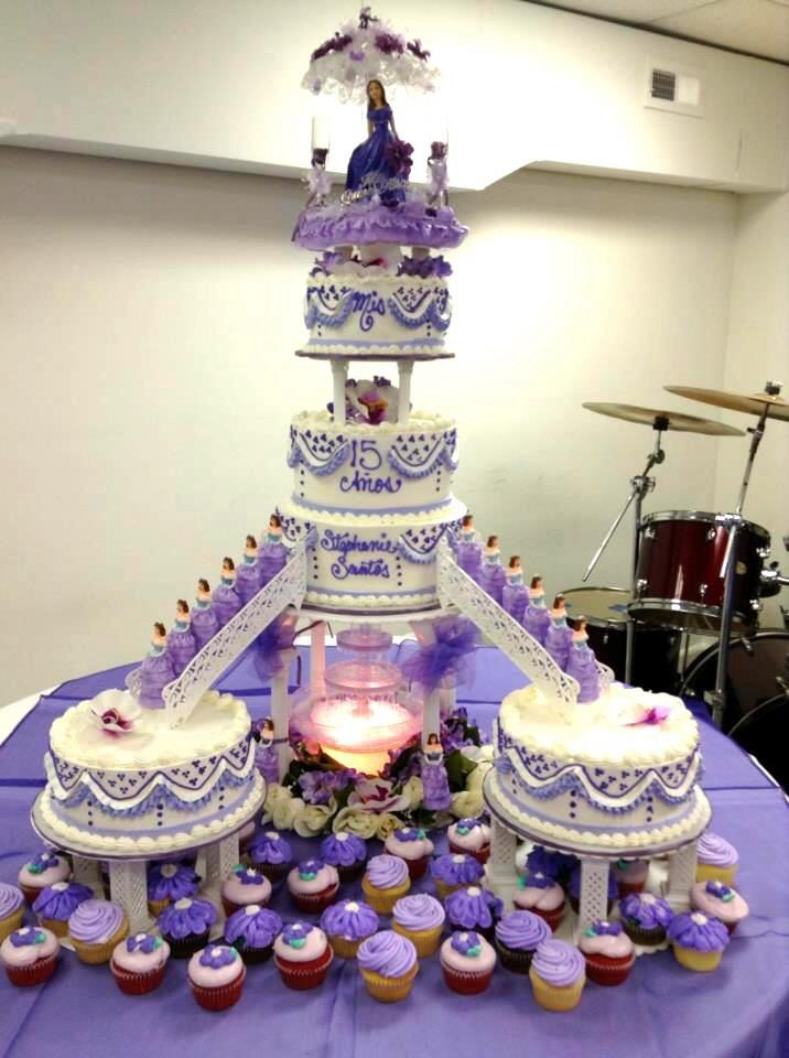 12 15 Anos Cakes In Blue Photo Blue 15th Birthday Cake 15 Anos
