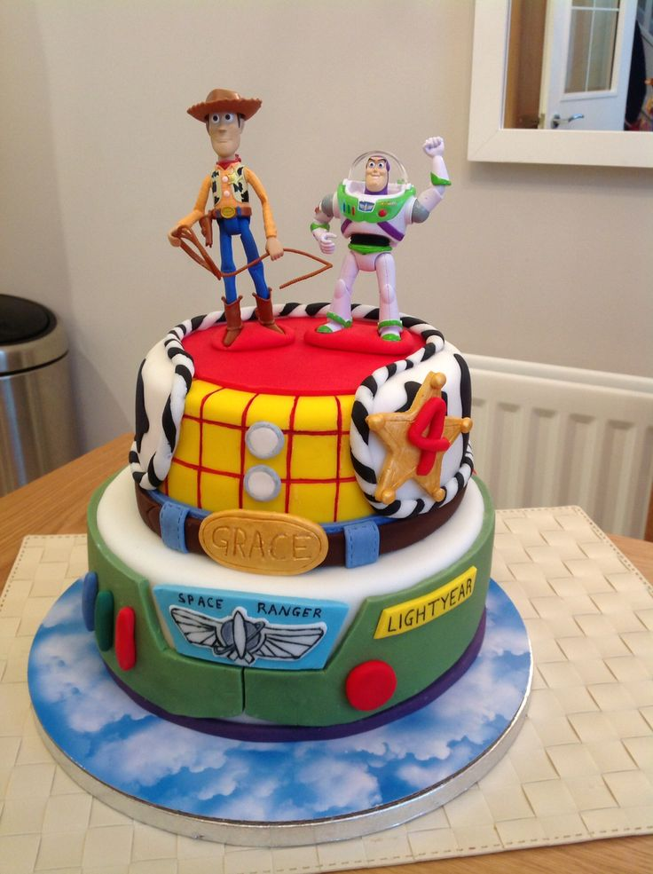 11 Toy Story Birthday Cakes Pinterest Photo Toy Story Birthday