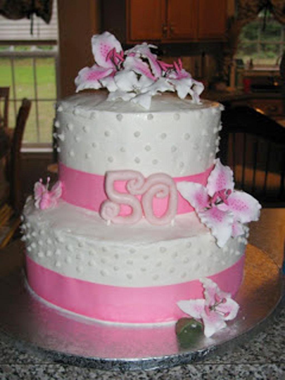 9 Women 50th Birthday Cakes Birthday Photo 50th Birthday Cake
