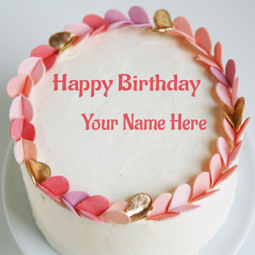 Excellent 10 Beautiful Birthday Cakes With Names On Them Photo Happy Funny Birthday Cards Online Bapapcheapnameinfo