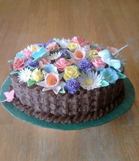 11 Amazing Birthday Sheet Cakes Flowers Photo Birthday Sheet Cake