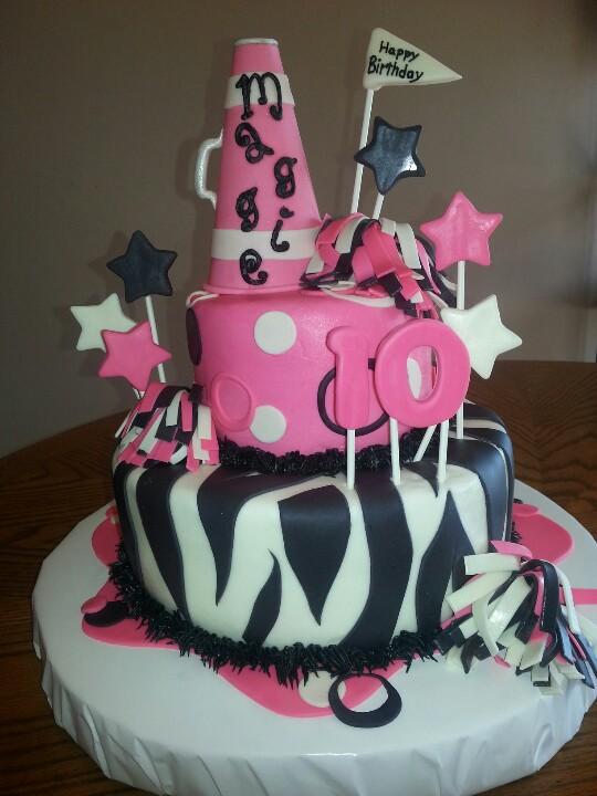 11 Cheerleading Birthday Theme Cakes With Photo Cheerleading
