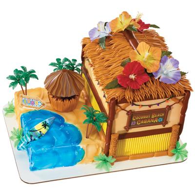 Coconut Beach Cabana Cake Publix