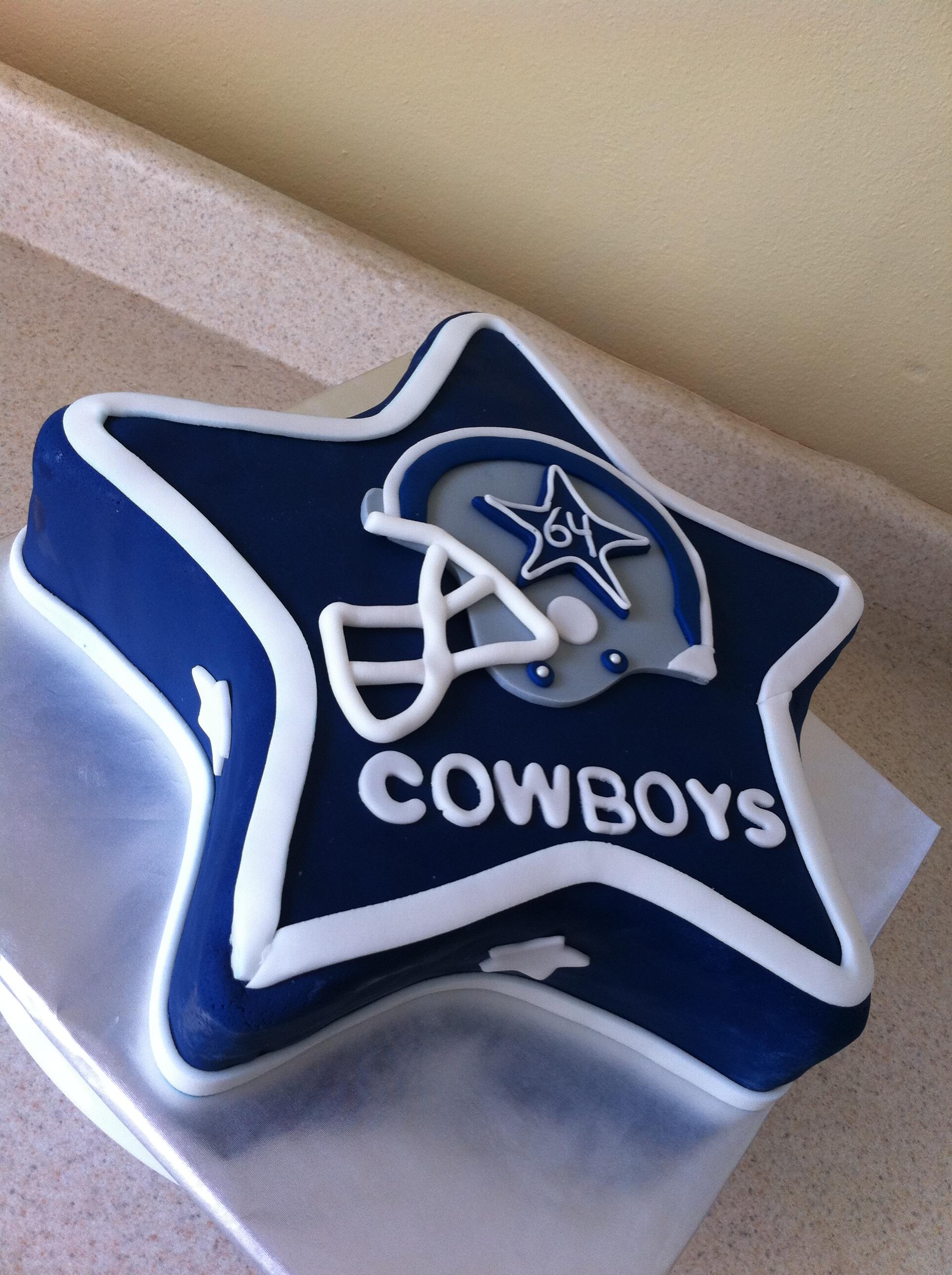 11 Photos of Dallas Cowboys Themed Cakes