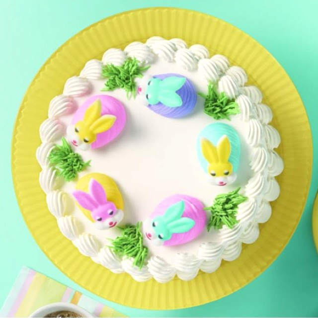 7 Photos of Dairy Queen Easter Cakes