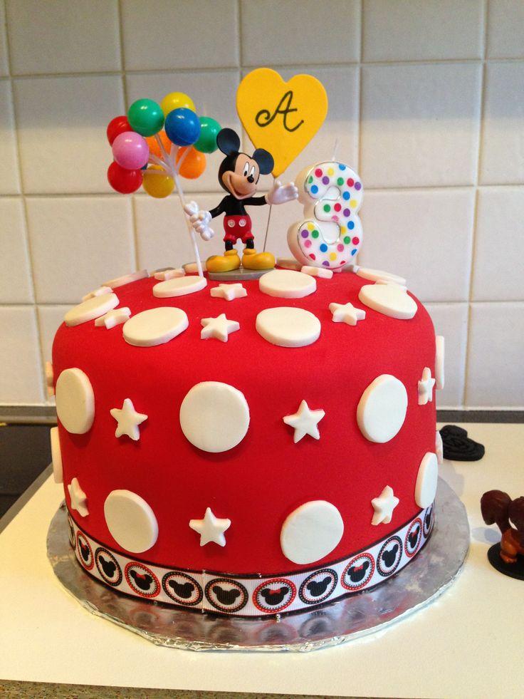 Fantastic 8 Easy Mickey Mouse Happy Birthday Cakes Photo Easy Mickey Mouse Personalised Birthday Cards Vishlily Jamesorg