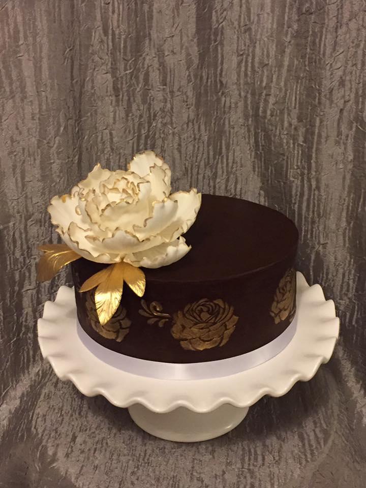 Outstanding 13 Small Elegant Birthday Cakes Photo Elegant Birthday Cake Personalised Birthday Cards Veneteletsinfo