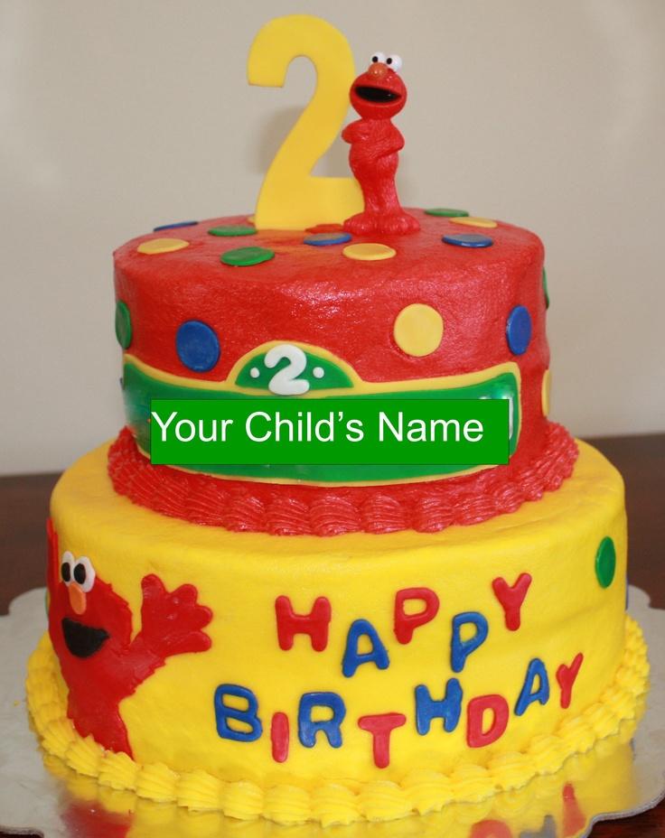 Elmo Birthday Cakes Ideas