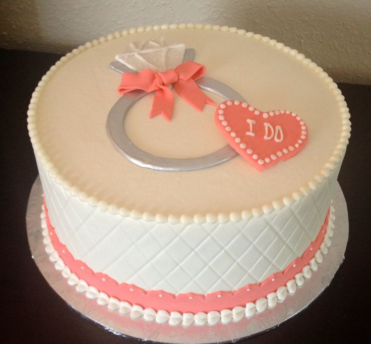 Engagement Cakes Ideas Designs