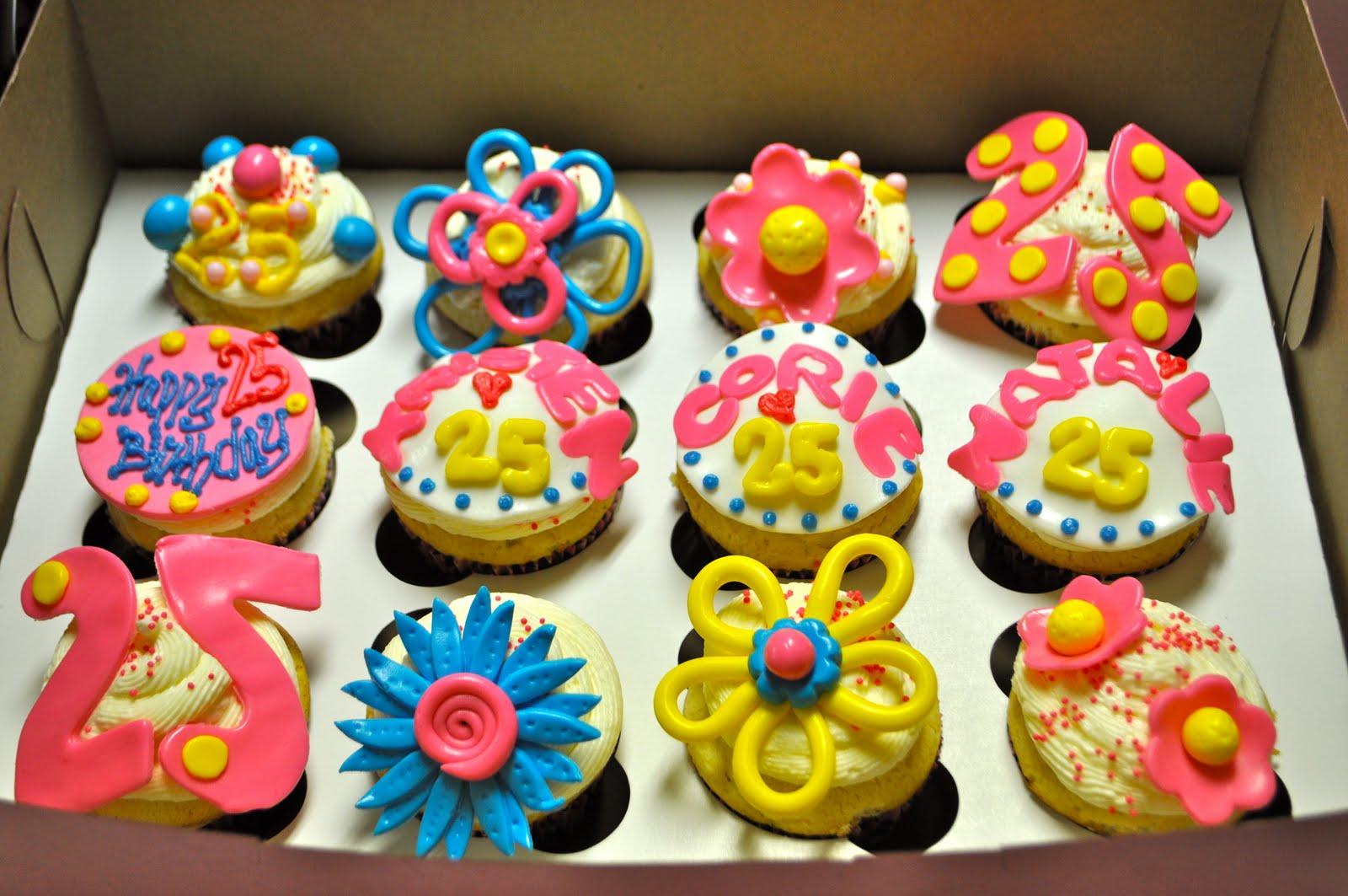 10 Cool Birthday Cupcakes For Girls Photo Girls Birthday Cupcake