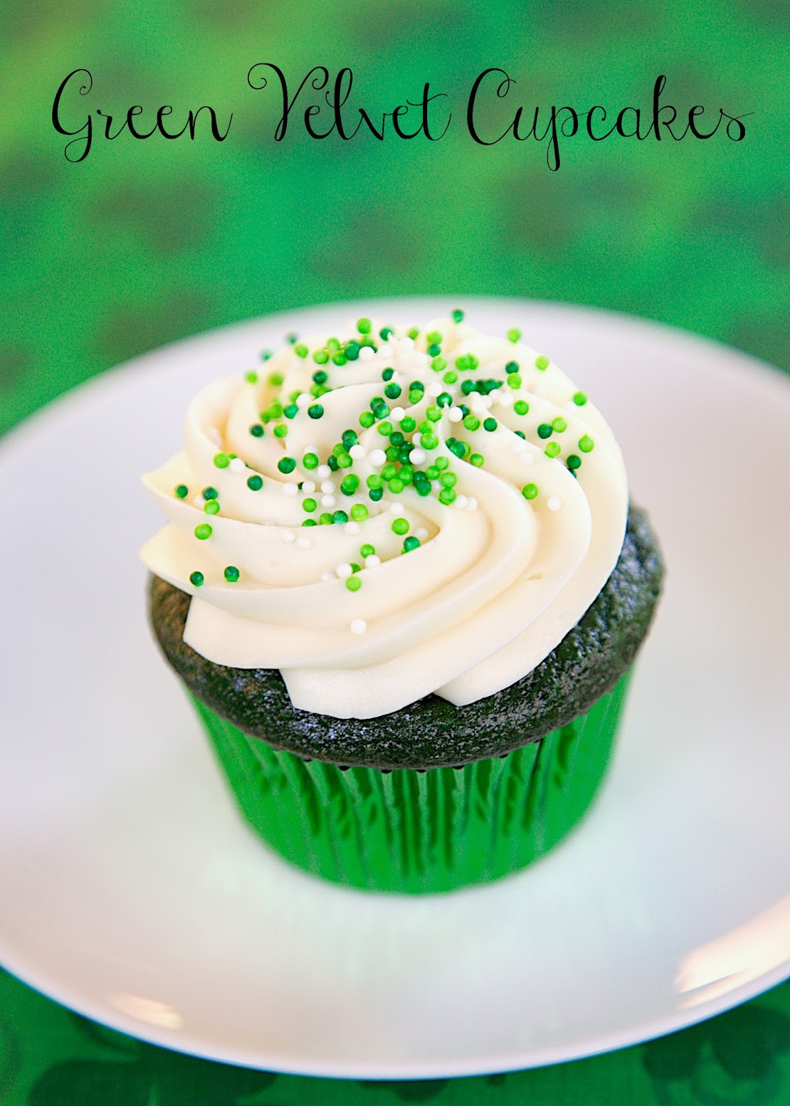 8 Photos of Green Velvet And Cream Cheese Cupcakes