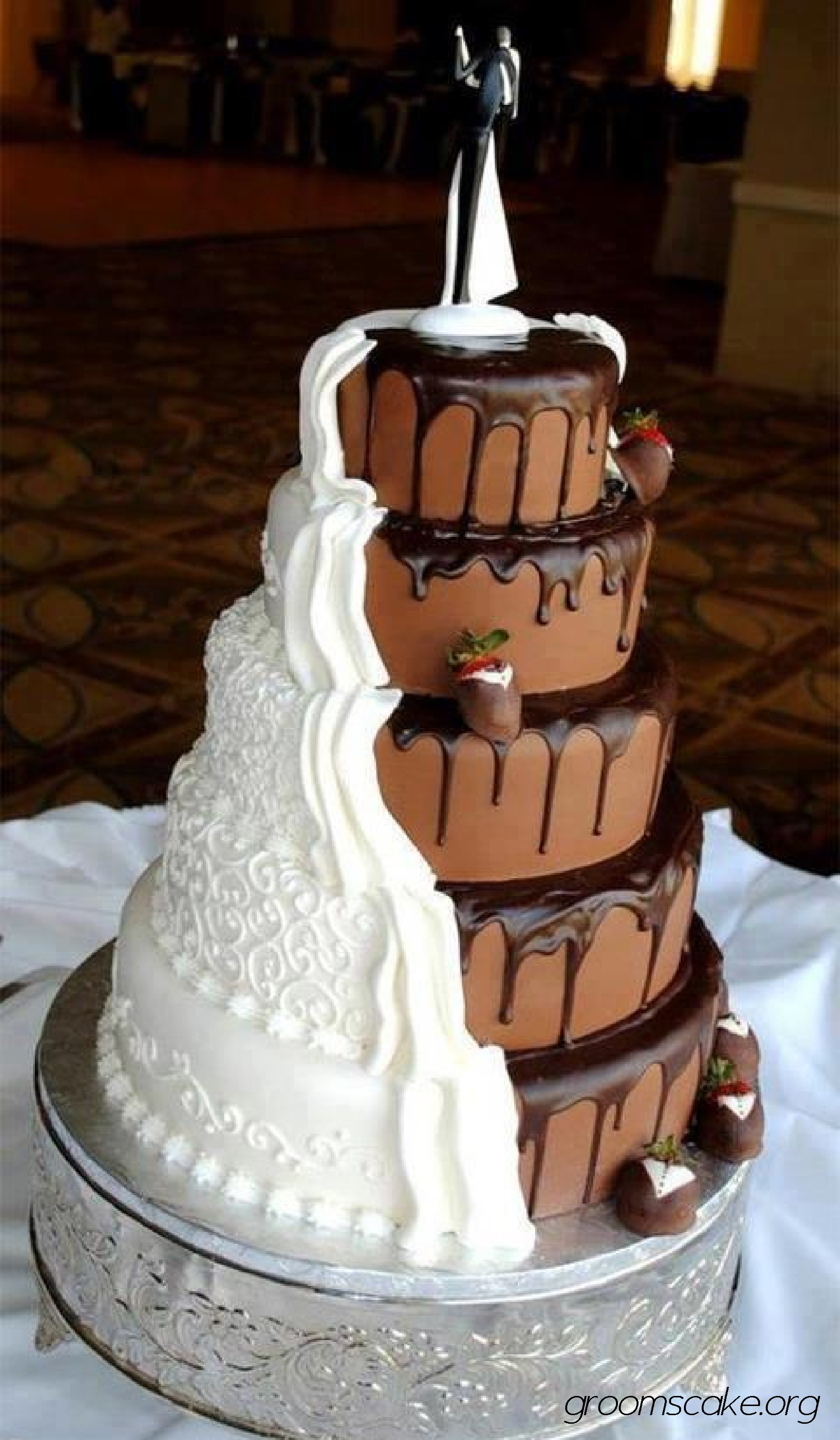 11 Photos of Love Groom Cakes