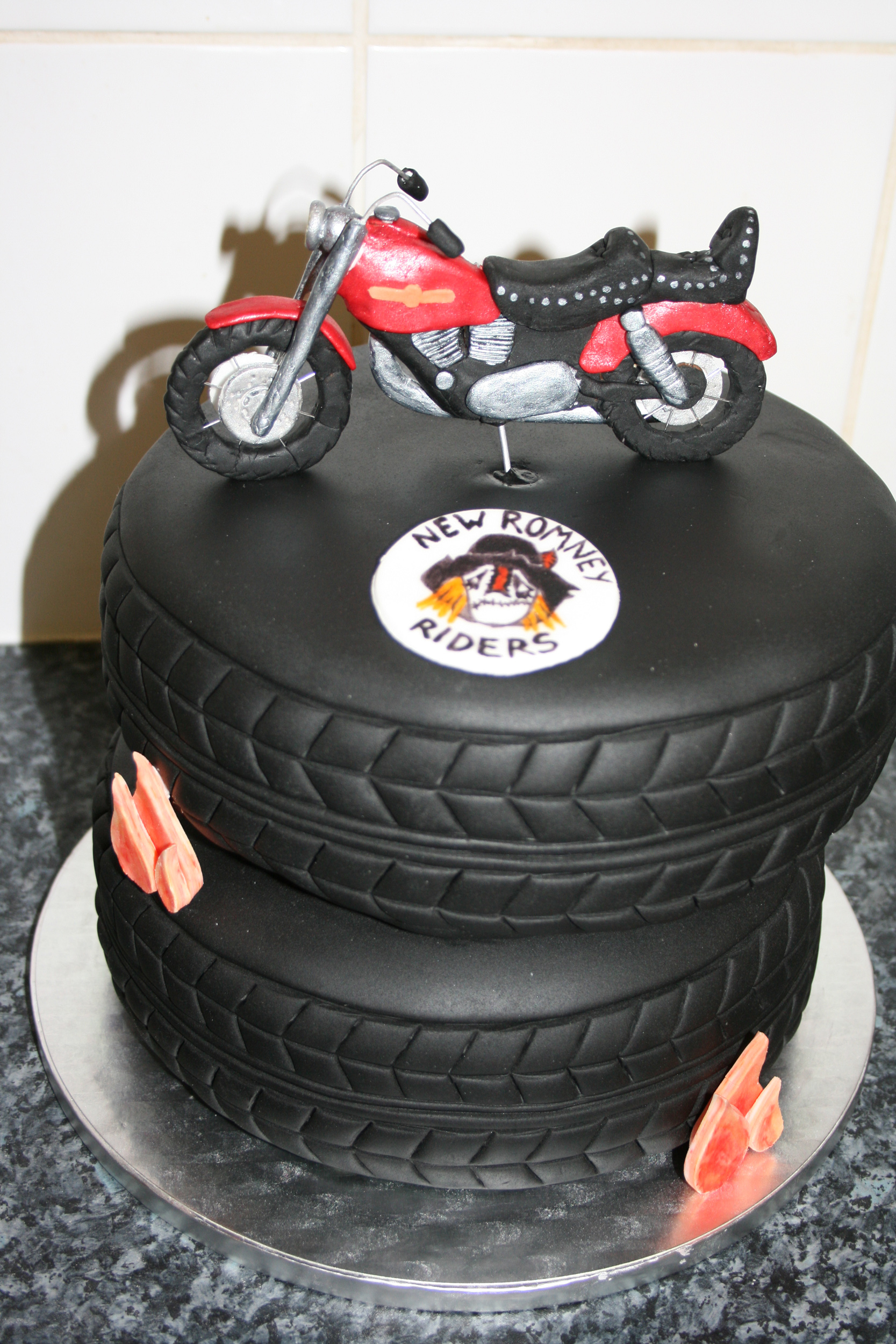 7 Harley Motorcycle Cakes Photo Harley Davidson Cake Candlewick