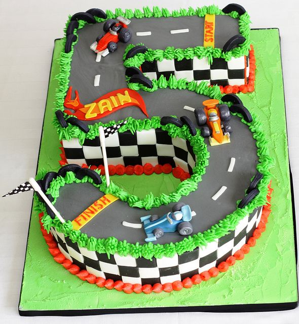 12 Race Car Cakes 3 Photo Race Car Birthday Cake Ideas Boy Race