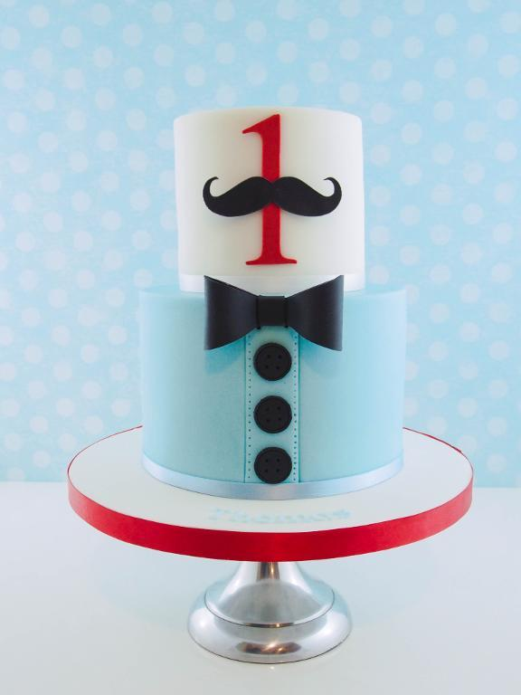 8 Little Man Cake Pop Cakes Photo Little Man Mustache Party Cake