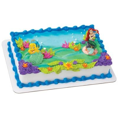 8 Photos of Little Mermaid Cakes From Publix