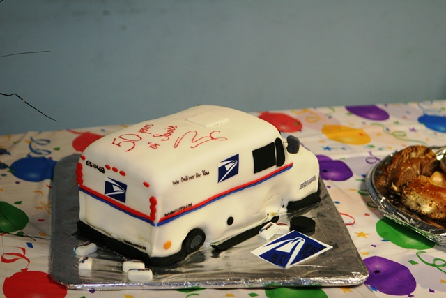 Mail Carrier Retirement Cakes