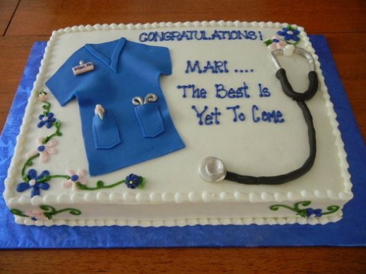 10 Photos of Nursing Graduation Sheet Cakes Ideas