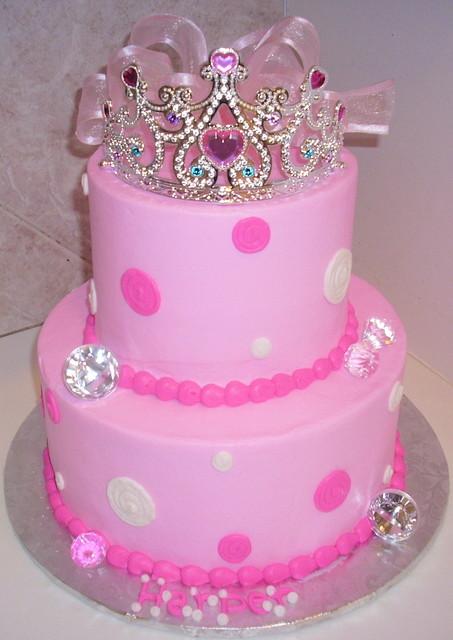 Remarkable 7 Tierra Birthday Cakes For Girls Photo Princess Tiara Birthday Funny Birthday Cards Online Amentibdeldamsfinfo