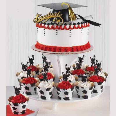 11 Photos of Publix Graduation Cupcakes