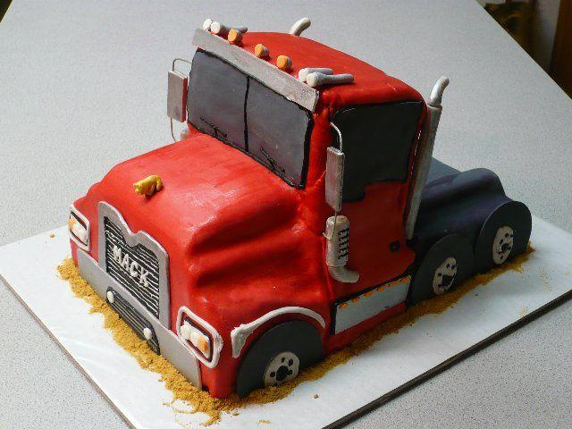 10 Photos of To My Truck Cakes