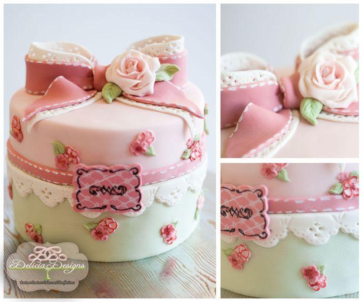 Stupendous 12 Shabby Chic Cupcake Birthday Cakes Photo Shabby Chic Birthday Personalised Birthday Cards Vishlily Jamesorg