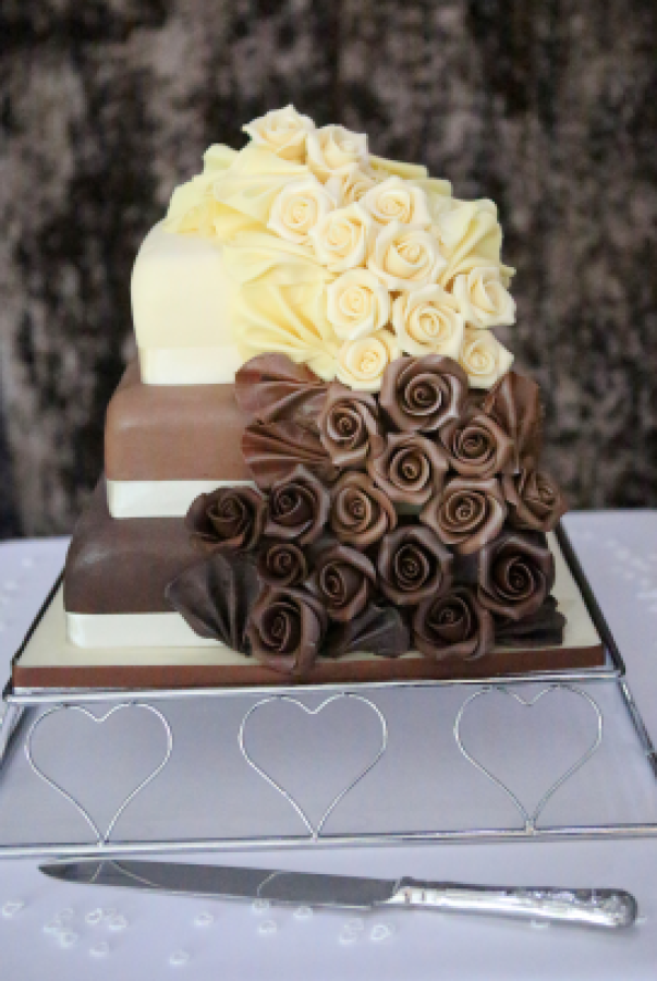 10 Photos of Layer Square Cakes