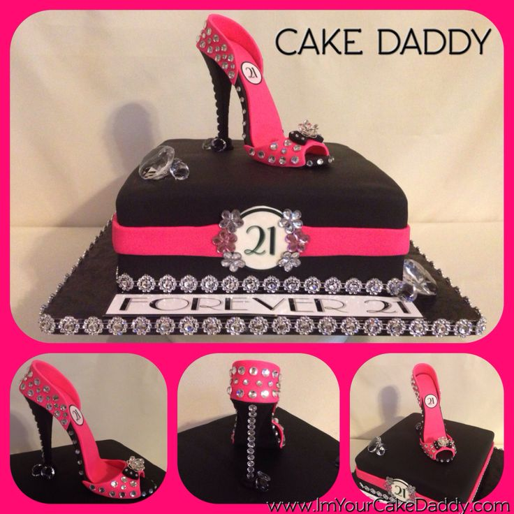 Fine 12 Blinged Out Happy Birthday Cakes Photo Stiletto Shoe Cake Funny Birthday Cards Online Kookostrdamsfinfo